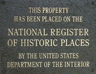 HistoricPlacesNationalRegisterPlaque