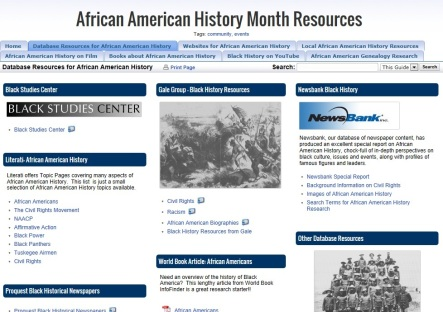 African American InfoGuide