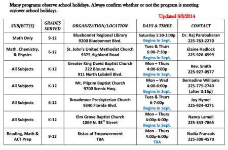 tutor-schedule
